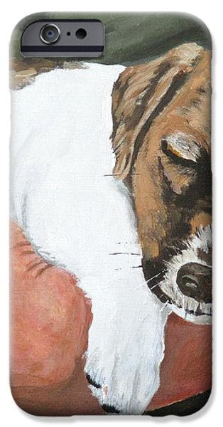 on guard iPhone Case by Michael Dillon