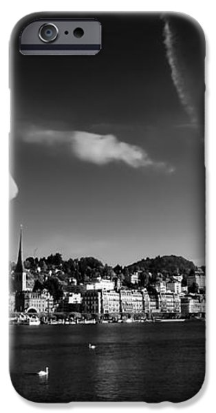 On Lake Lucerne iPhone Case by Mountain Dreams