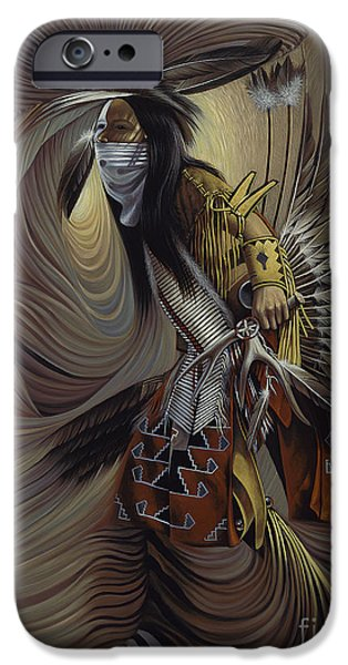 Native iPhone Cases - On Sacred Ground Series IIl iPhone Case by Ricardo Chavez-Mendez