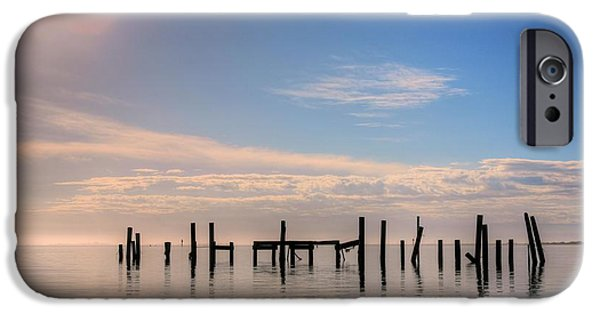 Florida Panhandle iPhone Cases - On Santa Rosa Sound iPhone Case by JC Findley