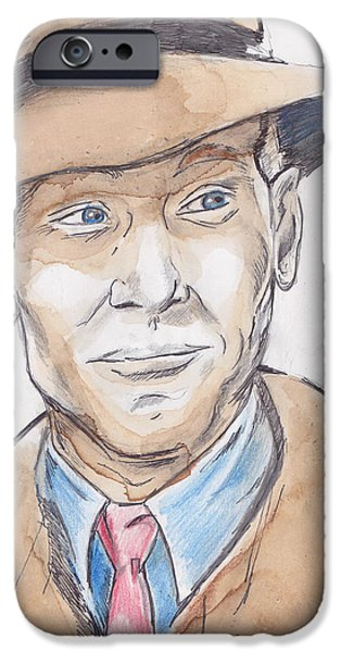 Enterprise Drawings iPhone Cases - On The Case iPhone Case by Randy Jack