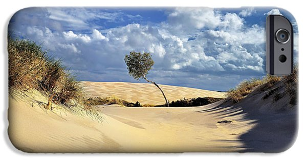 Mounds iPhone Cases - On the dune iPhone Case by Jan Sieminski