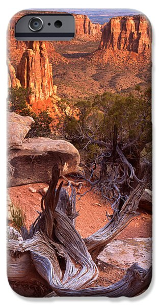 On the Edge iPhone Case by Ray Mathis