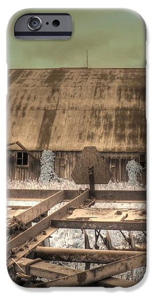 On The Farm iPhone Case by Jane Linders