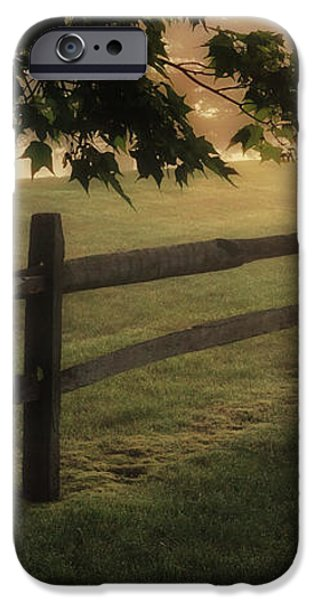 On the fence iPhone Case by Bill  Wakeley