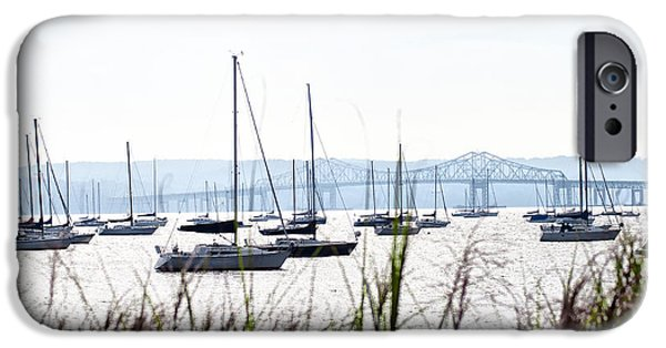 Hudson River iPhone Cases - On the Hudson River iPhone Case by Bill Cannon