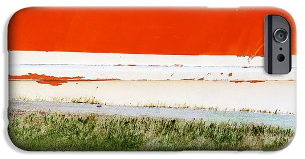 Alga iPhone Cases - On The Hull iPhone Case by Wendy Wilton