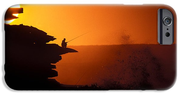 Fishermen iPhone Cases - On The Nose iPhone Case by Sean Davey