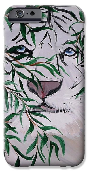 Painter Photo Photographs iPhone Cases - On The Prowl iPhone Case by Mark Moore