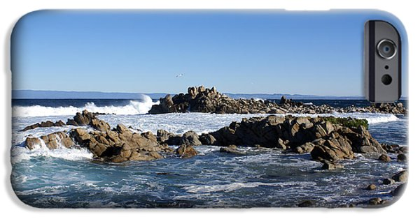Cambria iPhone Cases - On The Rocks iPhone Case by Barbara Snyder