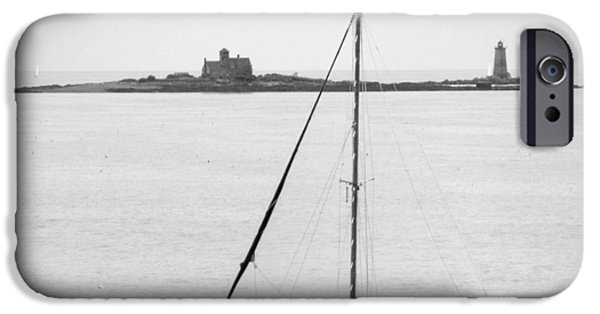 Lighthouse Digital iPhone Cases - On the Water iPhone Case by Mike McGlothlen