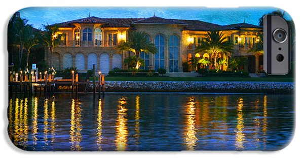 House Art iPhone Cases - On The Waterfront iPhone Case by Laura  Fasulo