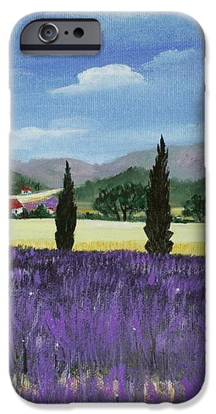On the way to Roussillon iPhone Case by Anastasiya Malakhova