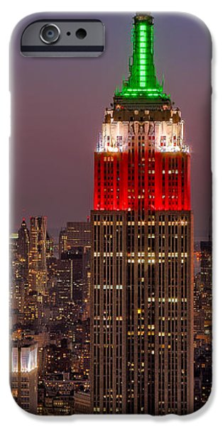 Building iPhone Cases - On Top Of The Rock iPhone Case by Susan Candelario