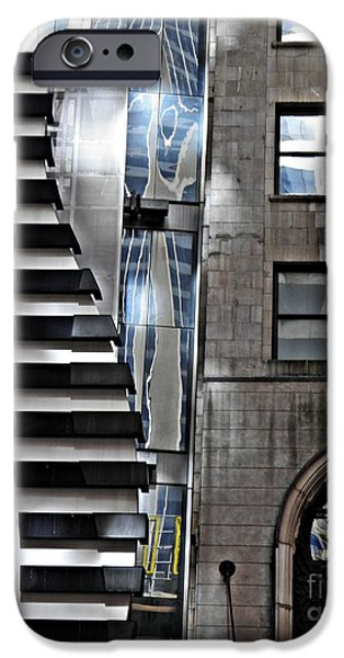 42nd Street iPhone Cases - On West 42nd Street 2 iPhone Case by Sarah Loft