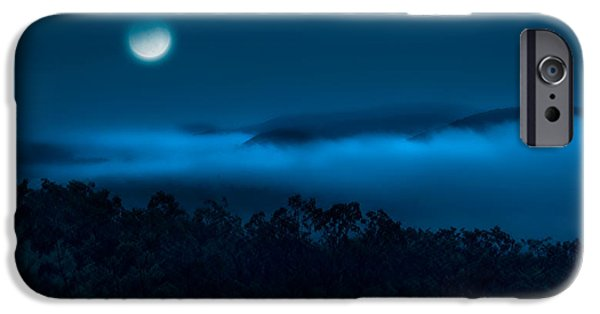 Best Sellers -  - Moonscape iPhone Cases - Once in a blue moon iPhone Case by Bill  Wakeley
