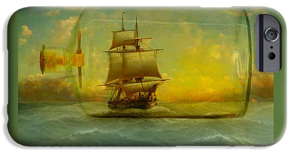 Escape iPhone Cases - Once In a Bottle iPhone Case by Jeff Burgess
