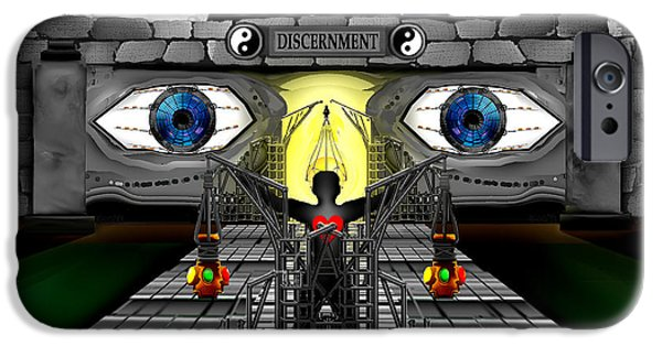 Discernment iPhone Cases - Once Upon A Reincarnation iPhone Case by AW Sprague II
