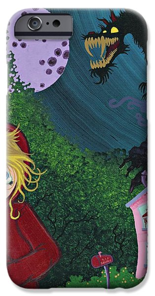 Once Upon a Time iPhone Case by Dan Keough