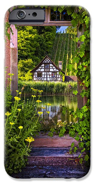 Austria iPhone Cases - Once Upon a Time iPhone Case by Debra and Dave Vanderlaan