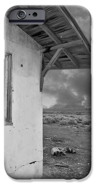 Overhang Digital iPhone Cases - Once Upon A Time In The Desert... iPhone Case by Glenn McCarthy Art and Photography
