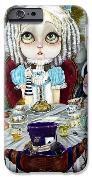 Best Sellers -  - Mad Hatter iPhone Cases - Once Upon a Time iPhone Case by Leticia Frankio