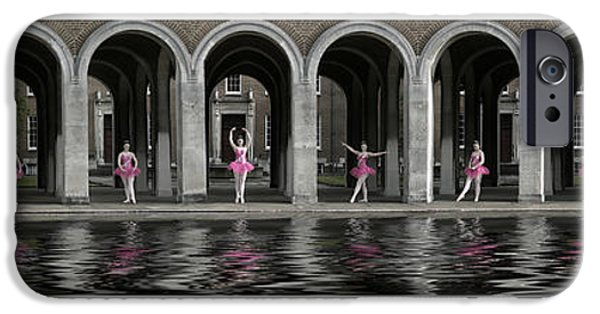 Ballet Dancers iPhone Cases - One Ballerina iPhone Case by Keith Furness