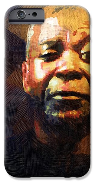 One Eye in the Mirror iPhone Case by RC DeWinter