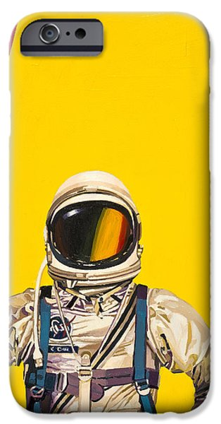 Science Paintings iPhone Cases - One Golden Arch iPhone Case by Scott Listfield