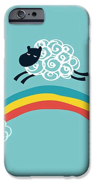 one happy cloud iPhone Case by Budi Satria Kwan