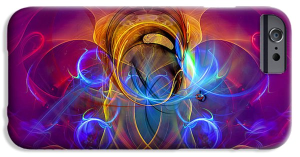 Shape iPhone Cases - One Happy Morning iPhone Case by GP Images