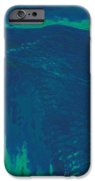 Snowy Night Mixed Media iPhone Cases - One Hill Side Sky iPhone Case by Feile Case