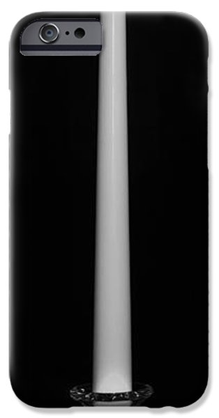 One Light - BW iPhone Case by Nicholas Evans