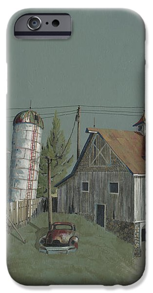 One Man's Castle iPhone Case by John Wyckoff