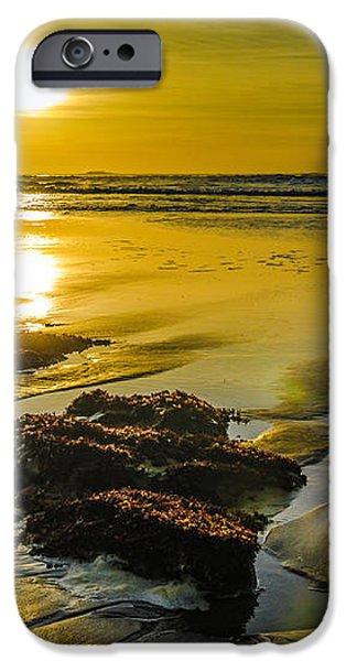 One Oregon Coast Sunset iPhone Case by Puget  Exposure