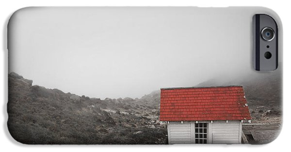 White House iPhone Cases - One Room in a Fog iPhone Case by Ellen Cotton