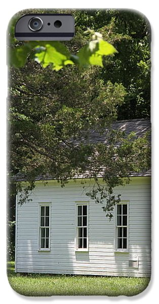One Room Schoolhouse iPhone Case by Robin Erisman
