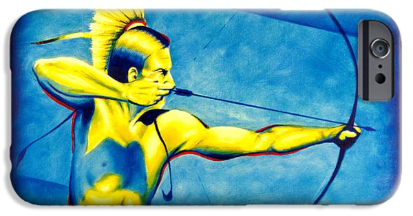Recently Sold -  - Airbrush iPhone Cases - One Shot iPhone Case by Robert Martinez