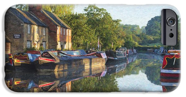 Union Digital Art iPhone Cases - One Spring Morning iPhone Case by Tim Gainey