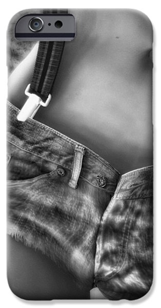 Seductive iPhone Cases - One Suspender is enough iPhone Case by Bob Orsillo