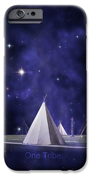 Fl iPhone Cases - One Tribe iPhone Case by Laura  Fasulo