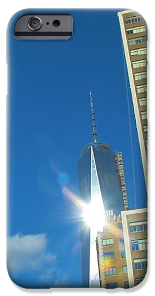One World Trade Center iPhone Case by Dan Sproul