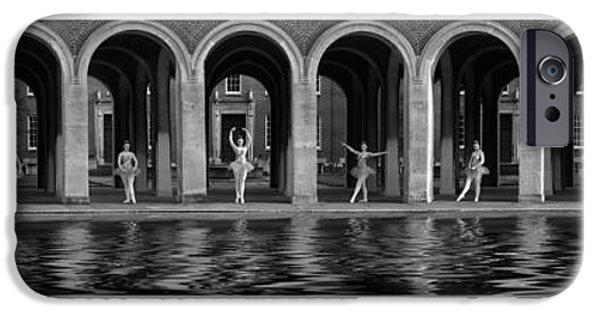 Ballet Dancers iPhone Cases - One x Ten iPhone Case by Keith Furness