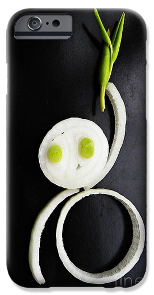 Onion Baby iPhone Case by Sarah Loft