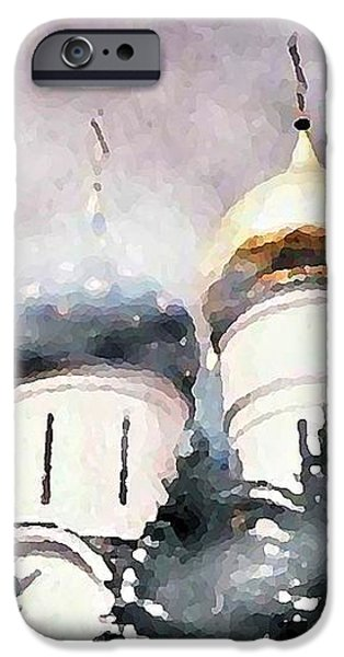Onion Domes in the Mist iPhone Case by Sarah Loft