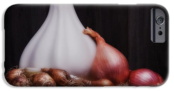 Alliums iPhone Cases - Onions iPhone Case by Tom Mc Nemar