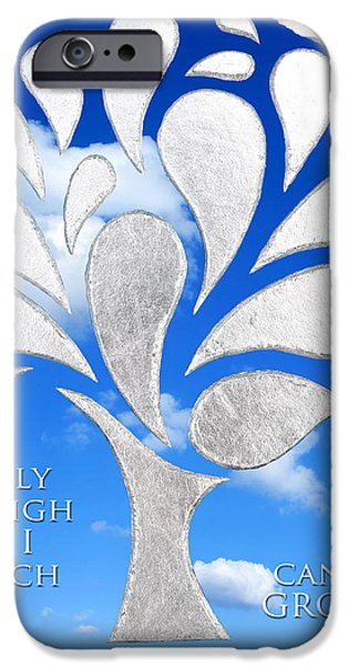Freedom iPhone Cases - Only as High as I Reach Can I GROW iPhone Case by Nikki Smith
