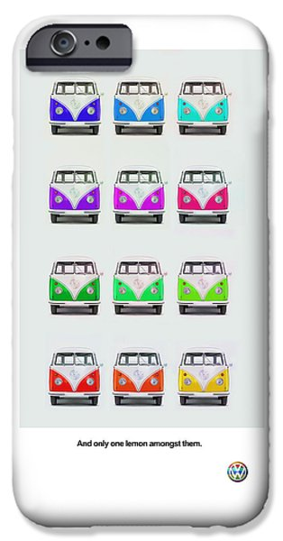 Bus Photographs iPhone Cases - Only One Lemon iPhone Case by Mark Rogan