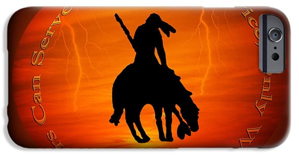 The Horse iPhone Cases - Only the Wounded Soldier iPhone Case by Eleanor Abramson