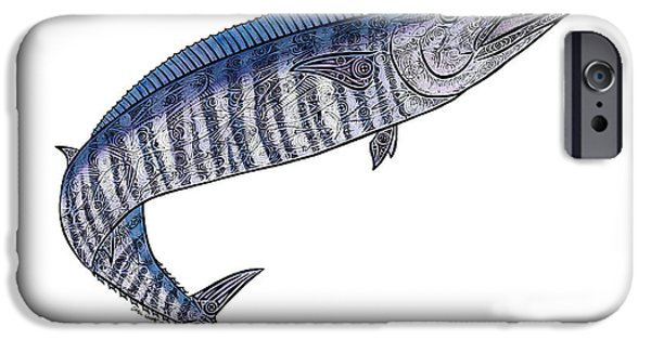 Sports Fish iPhone Cases - Ono II iPhone Case by Carol Lynne